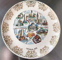 Ashtabula Ohio Vintage Souvenir Plate Taylor Smith - Excellent 1950's
