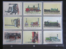 1950's ABC Railway Locomotives Non-Sport Cards Complete Set (48) NM-MT