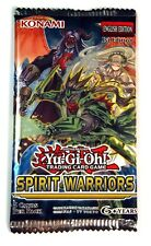 Konami Yu-Gi-Oh! TCG, Spirit Warriors booster Pack, New and Sealed