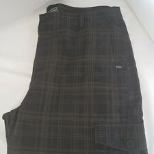VANS PLAID BOARD SKATER SHORTS MEN'S SIZE 36