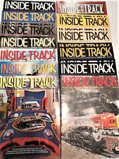 "Lionel Railroader Club Magazine ""Inside Track"" (20) from 2000 > 2004. Mint Cond."