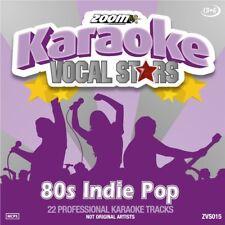 Zoom Karaoke Vocal Stars Series Volume 15 CD+G - 80s Indie Pop
