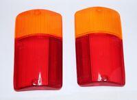 FIAT 126 BIS PAIR OF REAR LIGHT LENS LEFT & RIGHT TAIL LAMP LENS BRAND NEW