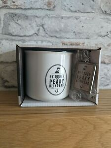 Officially Licensed Peaky Blinders Ceramic Mug Cup and Keyring Brand new boxed