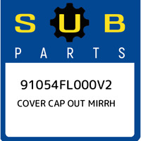 91054FL000V2 Subaru Cover cap out mirrh 91054FL000V2, New Genuine OEM Part