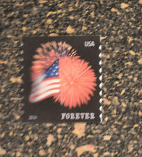 2014USA #4854 Forever Star Spangled Banner (APU) Coil Single Mint flag fireworks