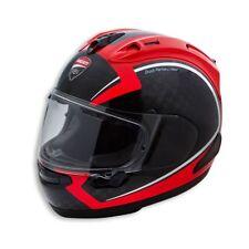 Ducati Arai RX 7V RC Carbon 2 Helm Motorrad Sport Racing Integral schwarz rot S