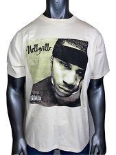 Vintage Nelly Concert Shirt Hip Hop Original Tour 2 Sided 2002 Nellyville New L