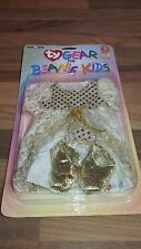 NEW Collectable Rare Vintage TY Beanie Kid Princess Dress outfit girl doll 1990s