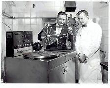 1959 Vintage Photo Henry Ford Hospital Staff checks X-Ray Machine of a bad Heart