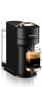 New Nespresso Vertuo Next Coffee Capsule Machine Black Rose Gold RRP £149