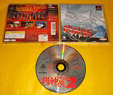 BATTLE ARENA TOSHINDEN 2 Ps1 Versione NTSC Giapponese ○○○ USATO - AJ