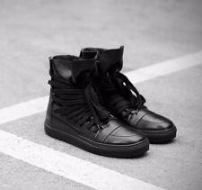 Kris Van Assche KVA High Top Multi Lace Sneaker Black KRISVANASSCHE Size 41