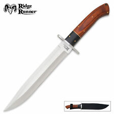 RIDGE RUNNER Montana - BIG 35cm - Toothpick BOWIE KNIFE & Sheath - FAST DISPATCH
