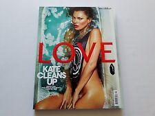 Kate Moss, Cara Delevingne LOVE UK Magazine #9 Spring/Summer 2013 New