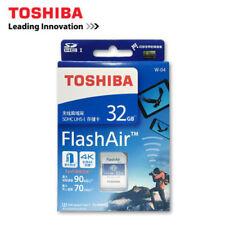 32GB Toshiba Wifi FlashAir SDHC U3 W-04 Wireless LAN Secure Digital Memory Card