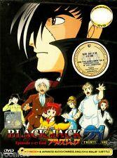 DVD Anime BLACK JACK 21 Complete TV Series 1-17 END English Subtitle Region All