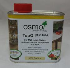 Topoil di OSMO Opaco Incolore - 500 ML