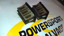 01 02 SKIDOO MXZX MXZ X 440 ZX Vforce Boyesen Reed SET Intake Petal Pair 2000 99