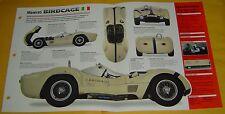 1960 Maserati Birdcage Tipo 61 Race Car 2890cc 250 hp 2 Webers Info/Specs/photo