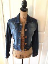 BABY PHAT Jean Denim Blue Jacket Ladies Large