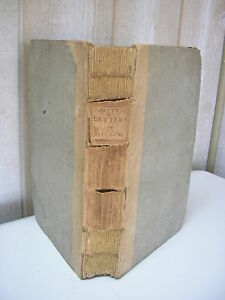 AIKIN :  LETTERS from a father to his son relative to litterature ... 1793
