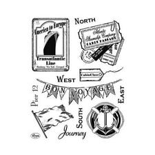 Viva Decor A5 Clear Silicone Stamps Set - Journey #112