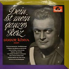 """SANDOR KONYA - DEIN IST MEIN GANZES HERZ - WOLGALIED UVA.  12""""  LP (N671)"""