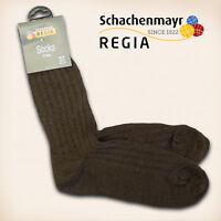 "10 Paar Regia Gr. 38/39 ""Fertigsocken"" Mocca Schachenmayr Sockenwolle Socken"