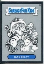 Garbage Pail Kids Chrome Series 1 Pencil Art Base Card 2b RAY DECAY