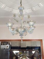 Murano Opalescent Chandelier Lustre Kronleuchter