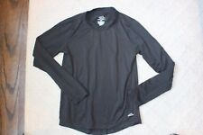Kids Youth Polar Edge Thermal Long Sleeve Top Shirt Black Base Layer Size Medium