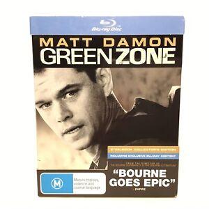 Green Zone Blu Ray Steelbook Collectors Edition (2010, Region Free)