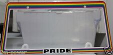 (2) For the Price of ONE - Gay Lesbian Rainbow PRIDE License Plate Frame!!!