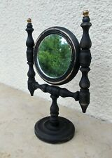Miroir rond psyché à poser style Napoleon III