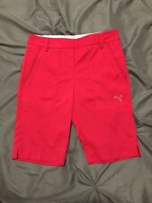 Women's PUMA Golf Shorts Bermuda Bright Pink 2