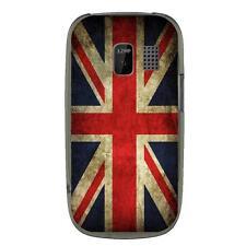 Coque souple pour Nokia Asha 302 avec impression Motifs drapeau UK vintage