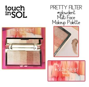 TOUCH IN SOL PRETTY FILTER GLOWDIENT Multi Face Makeup Palette