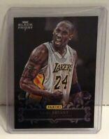Kobe Bryant 2012-13 Panini Black Friday Foil Parallel Card #1 Lakers NBA HOF
