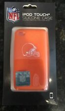 NEW NFL Cleveland Browns iPod Touch 4th Gen. Silicone Case - Orange