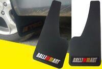 2pcs Universal Ralliart Power 3D C.FIBER Car Mudflaps Mud Guard Fender