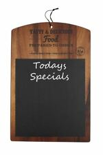 T&G Rustic 'Food Glorious Food' Wooden Wood Chalk Message Board Cafe Restaurant