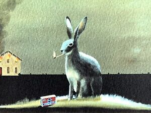 """Robert Deyber signed lithograph """"Bad Hare Day"""""""