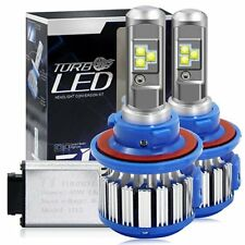2X H13 80W Canbus LED Headlight Bulb 9008 6000K 7200LM High Low Beam Cool White