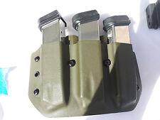 Fits a Glock 23/19 Custom Kydex Triple Magazine Pounch