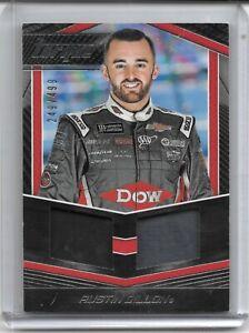 2017 TORQUE NASCAR RACING DUAL MATERIALS AUSTIN DILLON VERY NICE CARD