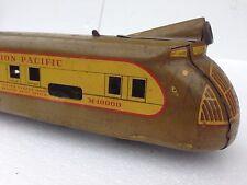 VINTAGE Louis Marx Union Pacific Clockwork Treno M100000