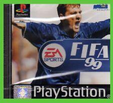 FIFA 99 sealed ITALIANO NUOVO PS1 SIGILLATO scheggiato NEW pal