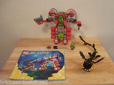 Lego Atlantis 8080 Undersea Explorer. Rare.