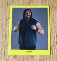Crush WWF WWE 1997 Cardinal Wrestling Card